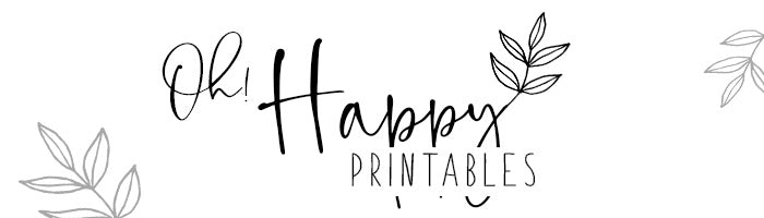 OhHappyPrintables