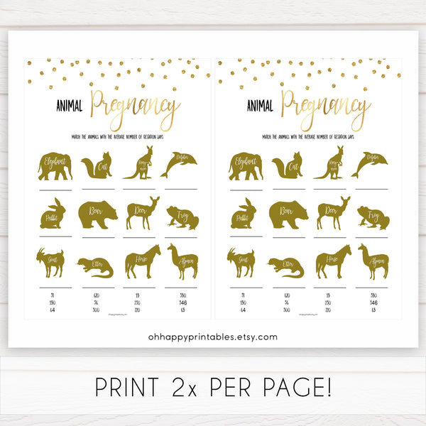 gold baby shower games, animal pregnancy games, printable baby games, fun baby games, popular baby games, baby shower games, gold baby games