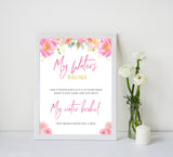 Pink blush floral baby shower my waters broke, printable baby games, baby shower games, blush baby shower, floral baby games, girl baby shower ideas, pink baby shower ideas, floral baby games, popular baby games, fun baby games