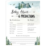 baby advice and predictions game, Printable baby shower games, adventure awaits baby games, baby shower games, fun baby shower ideas, top baby shower ideas, adventure awaits baby shower, baby shower games, fun adventure baby shower ideas