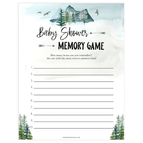 baby memory game, Printable baby shower games, adventure awaits baby games, baby shower games, fun baby shower ideas, top baby shower ideas, adventure awaits baby shower, baby shower games, fun adventure baby shower ideas