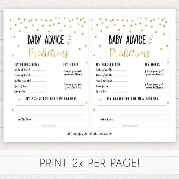 gold baby shower games, baby advice and predictions games, printable baby games, fun baby games, popular baby games, baby shower games, gold baby games