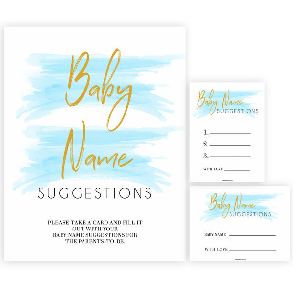 Blue swash, baby name suggestions baby games, baby shower games, printable baby games, fun baby games, boy baby shower games, baby games, fun baby shower ideas, baby shower ideas, boy baby games, blue baby shower