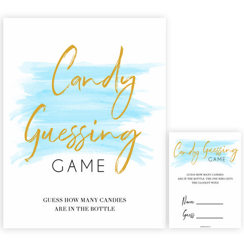 Blue swash, candy guessing game baby games, baby shower games, printable baby games, fun baby games, boy baby shower games, baby games, fun baby shower ideas, baby shower ideas, boy baby games, blue baby shower