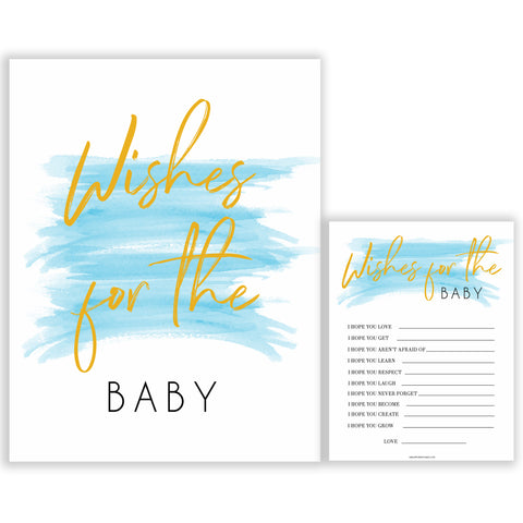 Blue swash, wishes for the baby baby games, baby shower games, printable baby games, fun baby games, boy baby shower games, baby games, fun baby shower ideas, baby shower ideas, boy baby games, blue baby shower