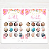 Pink blush floral baby shower game, porn or labor game, boobs butts game, baby bump game, printable baby games, baby shower games, blush baby shower, floral baby games, girl baby shower ideas, pink baby shower ideas, floral baby games, popular baby games, fun baby games