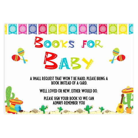 bring a book, books for baby, Printable baby shower games, Mexican fiesta fun baby games, baby shower games, fun baby shower ideas, top baby shower ideas, fiesta shower baby shower, fiesta baby shower ideas