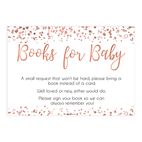 bring a book game, books for baby insert, Printable baby shower games, rose gold fun baby games, baby shower games, fun baby shower ideas, top baby shower ideas, blush baby shower, rose gold baby shower ideas