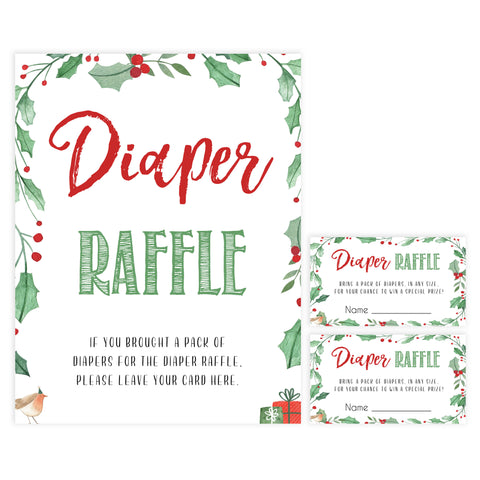 Christmas baby shower games, diaper raffle, festive baby shower games, best baby shower games, top 10 baby games, baby shower ideas, baby shower games