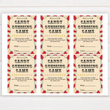 Circus candy guessing game baby shower games, circus baby games, carnival baby games, printable baby games, fun baby games, popular baby games, carnival baby shower, carnival theme