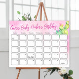 Guess The Baby birthday game, baby birthday predictions game, printable baby shower games, fun baby games, cactus baby shower baby fiesta shower games