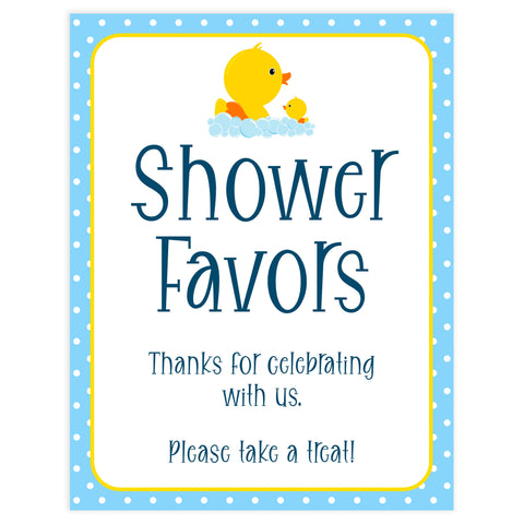 Rubber ducky baby signs, Rubber ducky baby shower, Shower favors baby signs, Printable baby signs, Baby decor,  fun baby decor,