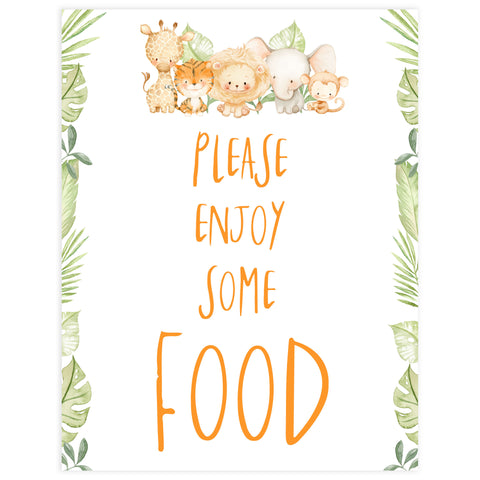 food baby shower table signs, Safari animals baby decor, printable baby table signs, printable baby decor, baby safari animals table signs, fun baby signs, baby safari animals fun baby table signs