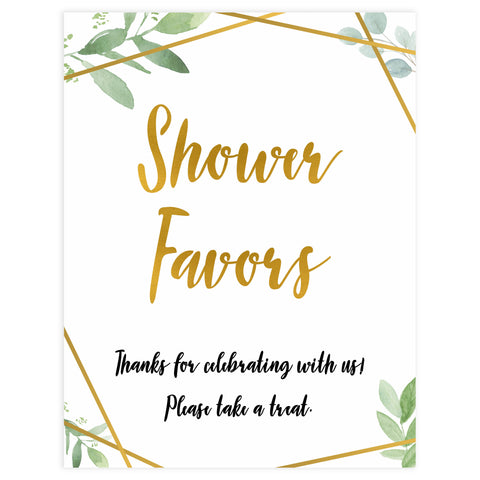shower favors baby table signs, favors baby signs, Gold geometric baby decor, printable baby table signs, printable baby decor, gold table signs, fun baby signs, geometric fun baby table signs