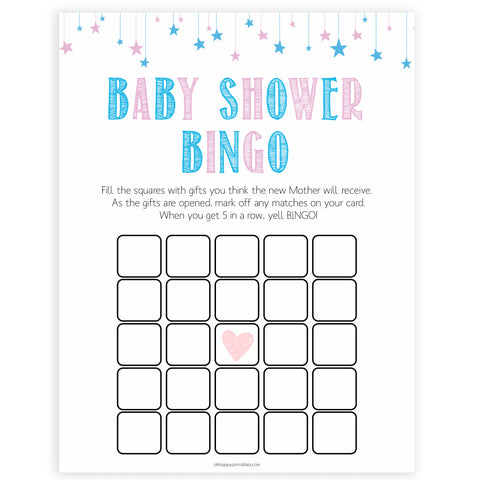 Gender reveal baby games, baby shower bingo baby game, gender reveal shower, fun baby games, gender reveal ideas, popular baby games, best baby games, printable baby games, gender reveal baby games