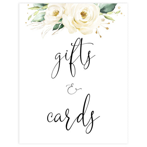 gifts and cards printable bridal signs, Printable bridal shower signs, floral bridal shower decor, floral bridal shower decor ideas, fun bridal shower decor, bridal shower game ideas, floral bridal shower ideas