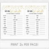 gold baby shower games, baby word scramble games, printable baby games, fun baby games, popular baby games, baby shower games, gold baby games, print baby games, gold baby shower
