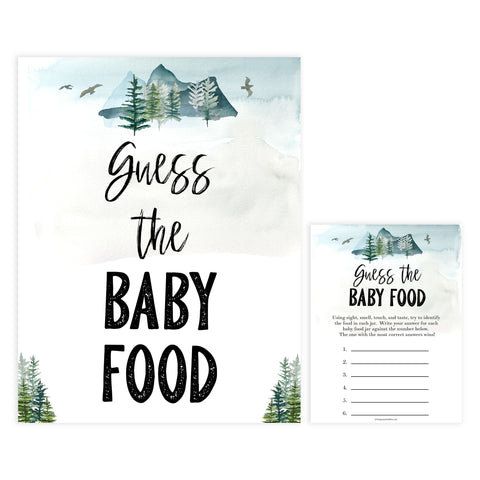 guess the baby food game, Printable baby shower games, adventure awaits baby games, baby shower games, fun baby shower ideas, top baby shower ideas, adventure awaits baby shower, baby shower games, fun adventure baby shower ideas
