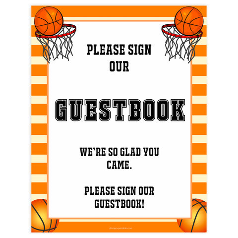 guestbook sign, guestbook baby sign, Basketball baby decor, printable baby table signs, printable baby decor, Basketball table signs, fun baby signs, Basketball fun baby table signs