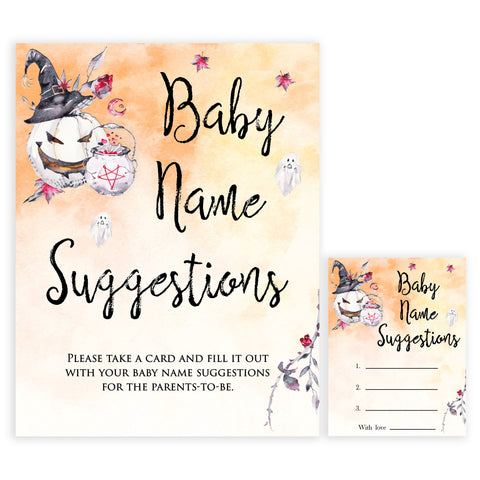 Halloween pumpkin baby games, baby name suggestions baby games, printable baby games, best baby games, top baby games halloween baby shower, halloween baby ideas, best baby games