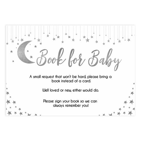 Books for baby, bring a book baby insert, Little star baby shower games, printable baby shower games, twinkle star baby shower, fun baby games, top baby shower ideas