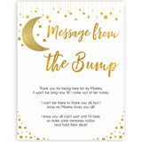 twinkle little star message from the bump baby shower games, fun baby shower games, popular baby shower games, printable baby games, gold baby games