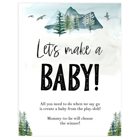 lets make a baby game, Printable baby shower games, adventure awaits baby games, baby shower games, fun baby shower ideas, top baby shower ideas, adventure awaits baby shower, baby shower games, fun adventure baby shower ideas