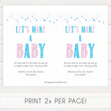 Gender reveal baby games, lets make a baby, printable baby shower games, fun baby games, top baby games, best baby games, baby shower games