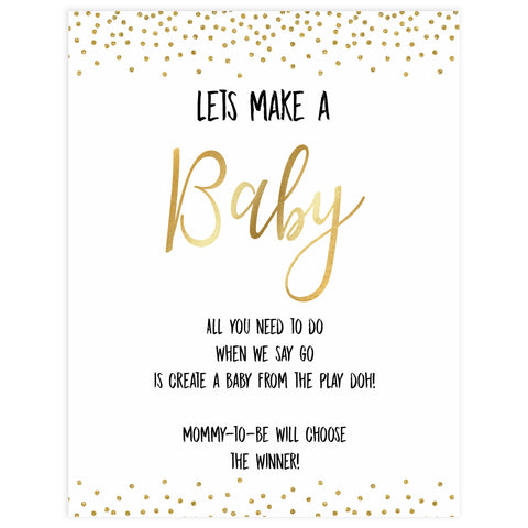 gold glitter baby games, lets make a baby game, printable baby games, make a baby game, fun baby games, top 10 baby games,