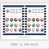 Nautical baby shower games, baby bump or beer belly baby shower games, printable baby shower games, baby shower games, fun baby games, popular baby shower games, sailor baby games, boat baby games