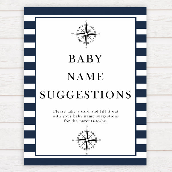 Nautical baby shower games, baby name suggestions baby shower games, printable baby shower games, baby shower games, fun baby games, popular baby shower games, sailor baby games, boat baby games