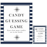 Nautical baby shower games, candy guessing game baby shower games, printable baby shower games, baby shower games, fun baby games, popular baby shower games, sailor baby games, boat baby games