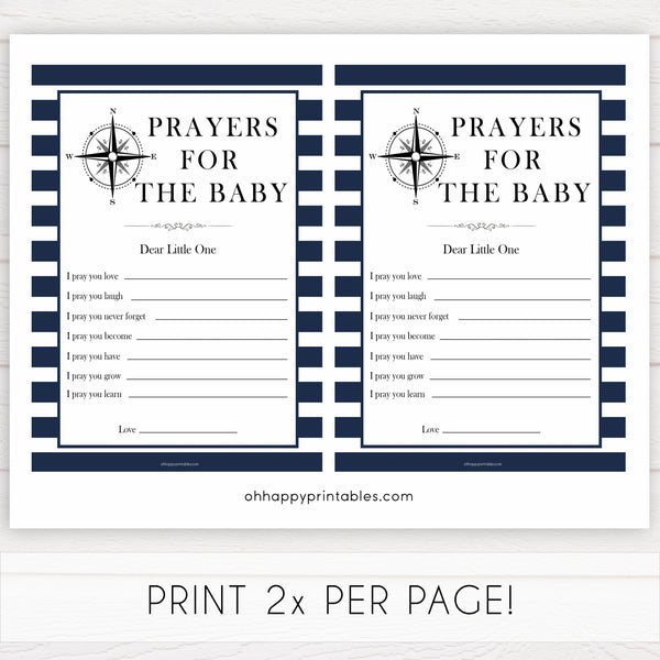 Nautical baby shower games, prayers for the baby, baby shower games, printable baby shower games, baby shower games, fun baby games, ahoy its a boy, popular baby shower games, sailor baby games, boat baby games