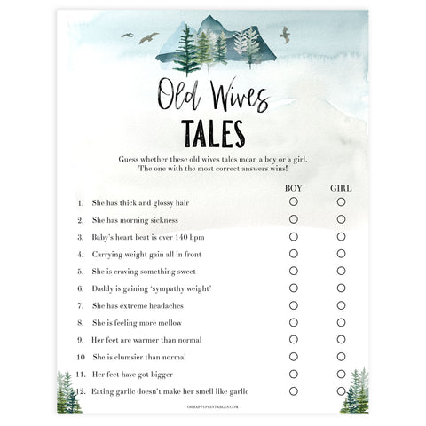 old wives tale baby game, Printable baby shower games, adventure awaits baby games, baby shower games, fun baby shower ideas, top baby shower ideas, adventure awaits baby shower, baby shower games, fun adventure baby shower ideas