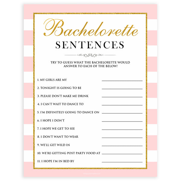 parisian bachelorette games, bachelorette sentences game, bridal shower games, naughty bridal games, dirty bachelorette games, top bridal games, fun bachelorette games, best bridal games