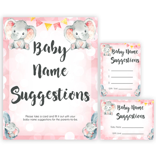 pink elephant baby games, baby name suggestions baby shower games, printable baby shower games, baby shower games, fun baby games, popular baby games, pink baby games
