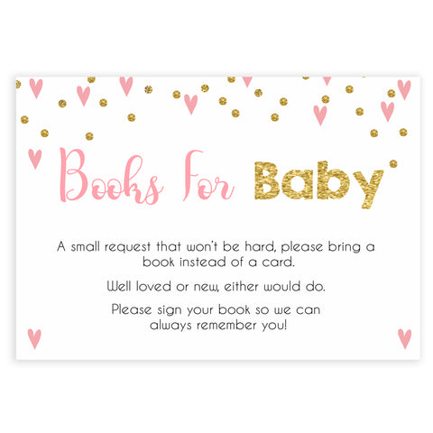 pink hearts baby shower, bring a book baby game, printable baby games, pink baby games, girl baby games, top 10 baby games, fun baby games