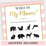 Paris themed baby shower, who is my mama baby game, Parisian baby shower, printable baby shower games, fun baby games, popular baby games, baby shower ideas, fun baby games, Paris baby games