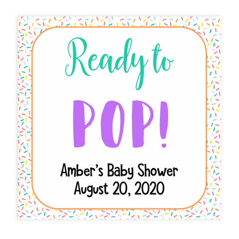 ready to pop tags, pop baby tags, Printable baby shower games, baby sprinkle fun baby games, baby shower games, fun baby shower ideas, top baby shower ideas, sprinkle shower baby shower, friends baby shower ideas