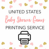 United States of America - Baby Games Printing Service