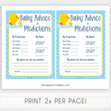 rubber ducky baby games, baby advice and predictions baby game, printable baby games, baby shower games, rubber ducky baby theme, fun baby games, popular baby games