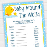rubber ducky baby games, baby around the world baby game, printable baby games, baby shower games, rubber ducky baby theme, fun baby games, popular baby games