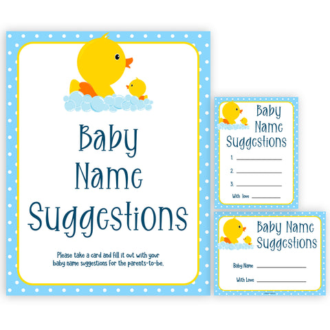 rubber ducky baby games, baby name suggestions baby game, printable baby games, baby shower games, rubber ducky baby theme, fun baby games, popular baby games