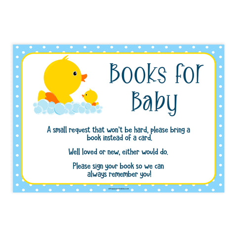 books for baby, rubber ducky baby shower games, bring a book for baby, rubber ducky baby shower, top baby games, printable baby shower games, top baby games
