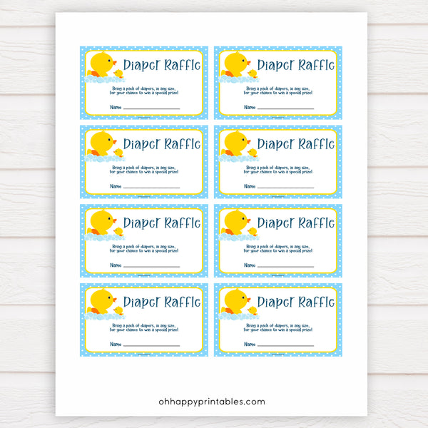 rubber ducky baby games, diaper raffle, baby diaper raffle baby game, printable baby games, baby shower games, rubber ducky baby theme, fun baby games, popular baby games