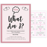 Rose gold what am I innuendo baby shower game, adult baby shower game, printable baby shower games, popular baby shower games, fun baby shower games