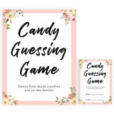 spring floral candy guessing game baby shower games, printable baby shower games, fun baby shower games, baby shower games, popular baby shower games