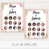 spring floral porn or labour baby shower games, printable baby shower games, fun baby shower games, baby shower games, popular baby shower games