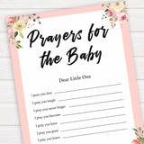 spring floral prayers for the baby baby shower games, printable baby shower games, fun baby shower games, baby shower games, popular baby shower games