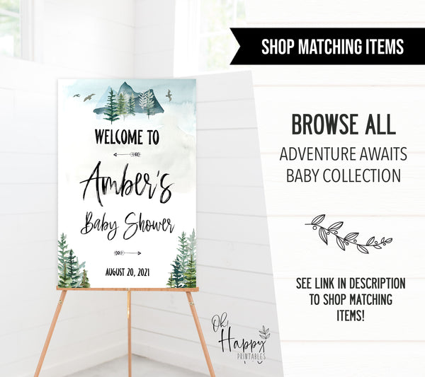ready to pop baby shower tags, Printable baby shower games, adventure awaits baby games, baby shower games, fun baby shower ideas, top baby shower ideas, adventure awaits baby shower, baby shower games, fun adventure baby shower ideas